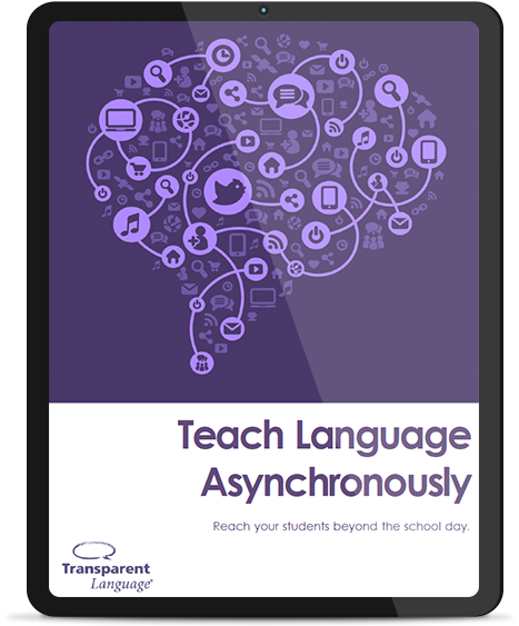 Teach Language Asynchronously