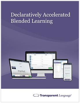Declaratively Accelerated Blended Learning in the Classroom