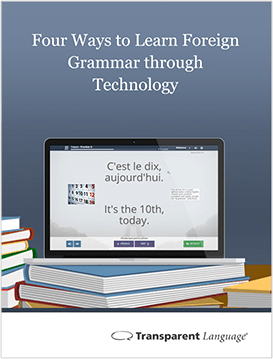 Four Ways to Learn Foreign Grammar Through Technology