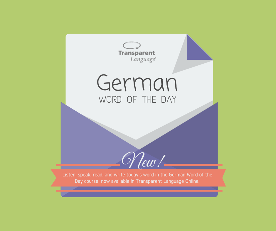 Word for dating in german